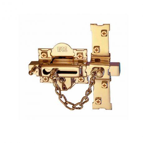 Cerrojo 307 RP80 FAC Seguridad dorado derecha
