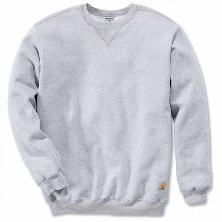 Sudadera Carhartt Midweight Crewneck heather grey