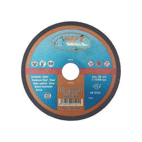 Disco de Corte WPT 125x1x22,23
