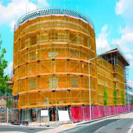 Malla Protección Fachadas