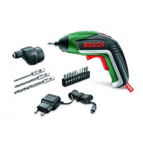 Atornillador Bosch IXO Drill + Accesorios