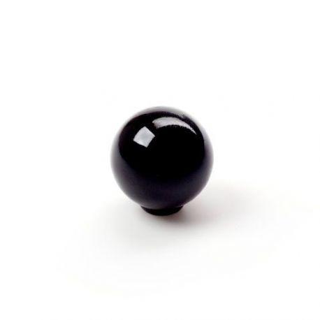 Pomo Forma Circular Abs Negro