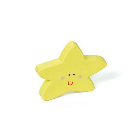 Pomo Forma Estrella Abs Amarillo