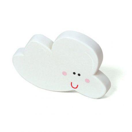 Pomo Forma Nube Abs Blanca