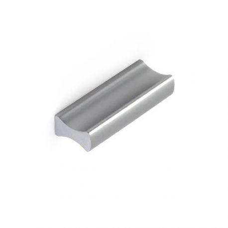 Tirador Rectangular Aluminio Anonizado