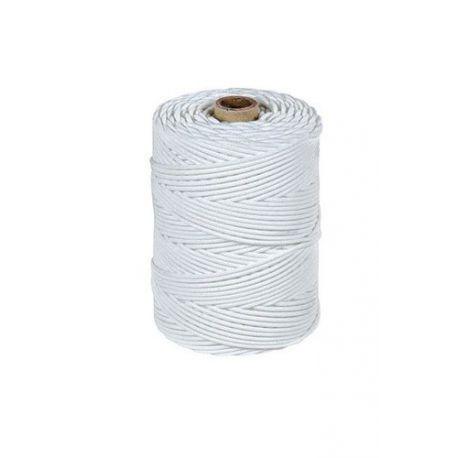 Cuerda de estrofil con exterior de monofilamentos de polietileno de alta densidad y en el interior material textil trenzado.