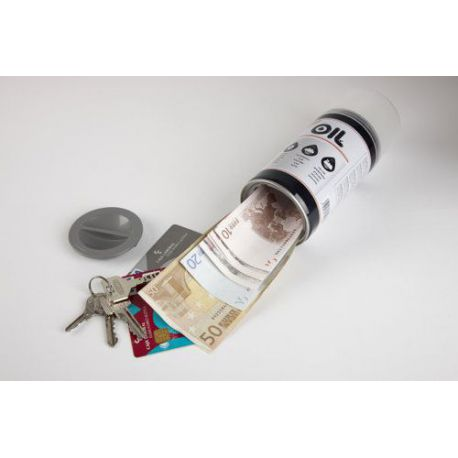 Caja Caudales Camuflada En Bote Spray