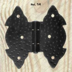 Bisagra Mariposa Tortajada 14 Negra