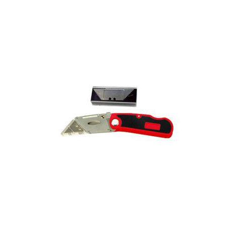 Cutter Navaja de Hoja Plegable 18mm (5 Hojas)
