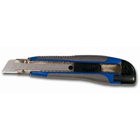 Cutter Bimateria Reforzado con Freno de Seguridad