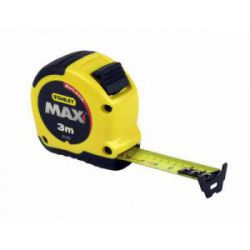 Flexómetro Con Freno Bimaterial Max de Stanley