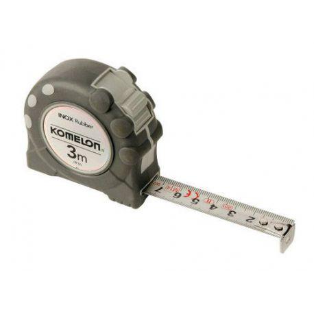 Flexómetro Inox Rubber Con Freno