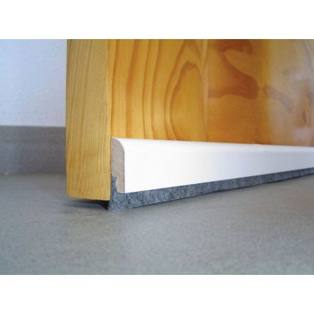 Burlete adhesivo de madera para puerta for Ver puertas de madera