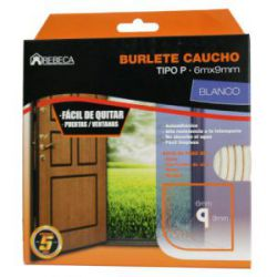 Burlete Caucho Tubular Rebeca