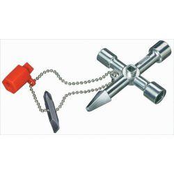 Llave Cabinas de Control (Calefacción) Knipex-Werk