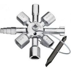 Llave Cabinas de Control Universal Twinkey Knipex-Werk