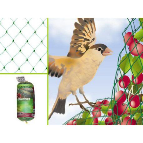 Bolsa Tela Plástico Birdnet Antipájaros Intermas