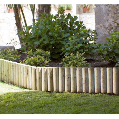 Bordura de Madera para Jardín