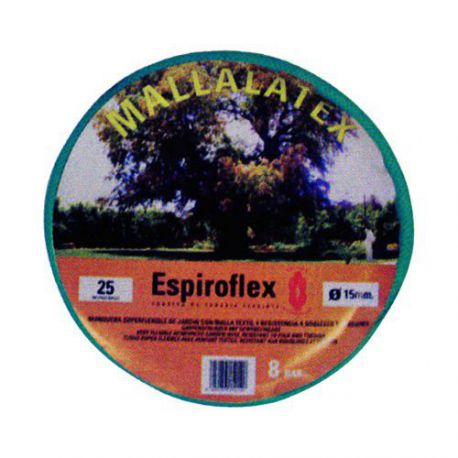 Manguera Mallalatex Notorsion Espiroflex 25 m