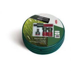 Manguera Trenzada Verde Espiroflex con Accesorios