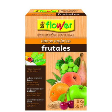 Abono Orgánico pra Frutales Bioflower