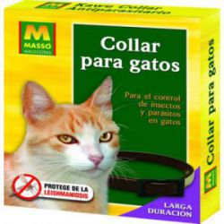 Collar para Gatos Antiparasitario Masso