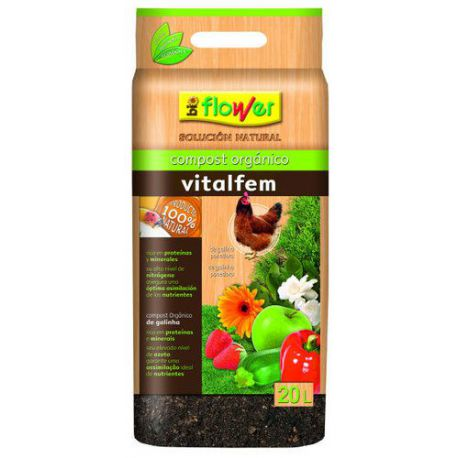 Compost Orgánico Vitalfem