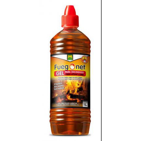 Gel para Encender Barbacoas de Leña y Carbón Masso