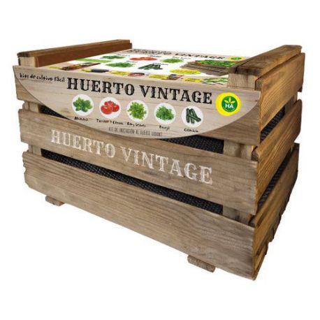 Kit de Cultivo Fácil Huerto Vintage