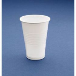 Vaso Plástico Blanco (25 Unidades)