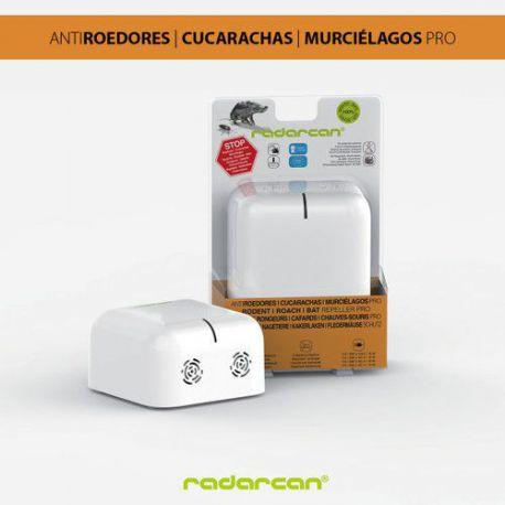 Ahuyentador de Ratas y Cucarachas Radarcan