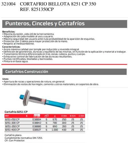 Cortafrio Bellota 8251 Cp