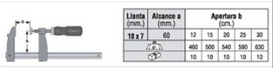 Prensilla Urko 21-012 Cm (18x7)