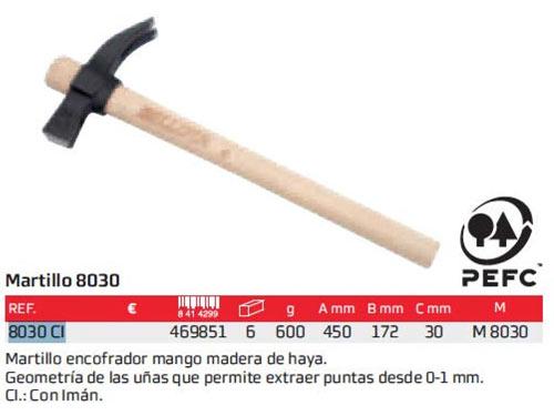 Martillo Bellota 8028-600