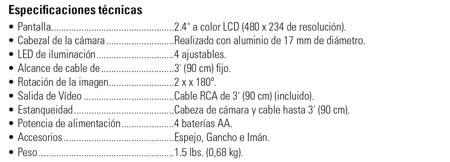 Camara De Inspeccion Micro Ca-25 Ridgid