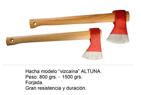Hacha Modelo Vizcaino Altuna