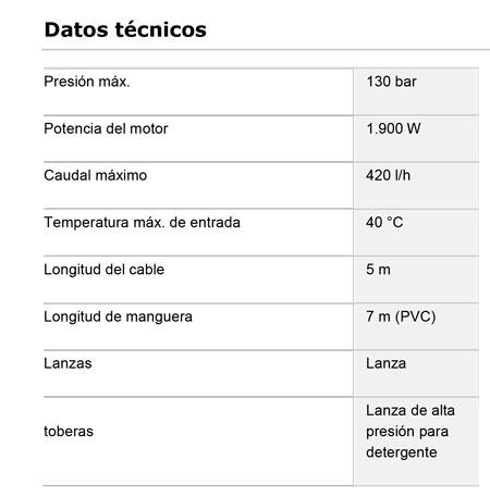 Hidrolavadora Aqt 42-13