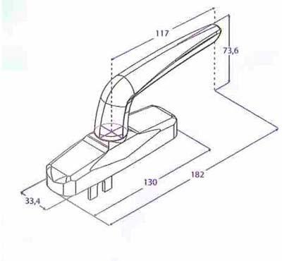 Falleba Aluminio Sistema Oscilo-Batiente