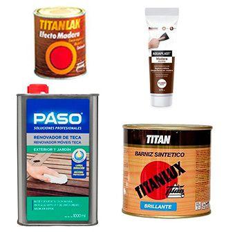 Productos para Madera
