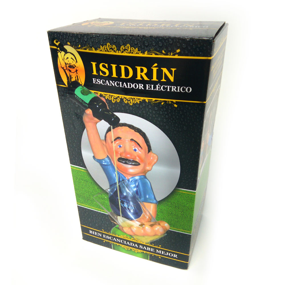 escanciador sidra Isidrin seleccion española