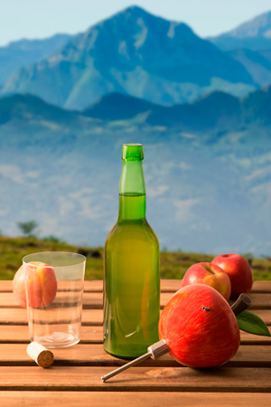 escancidor sidra manzana